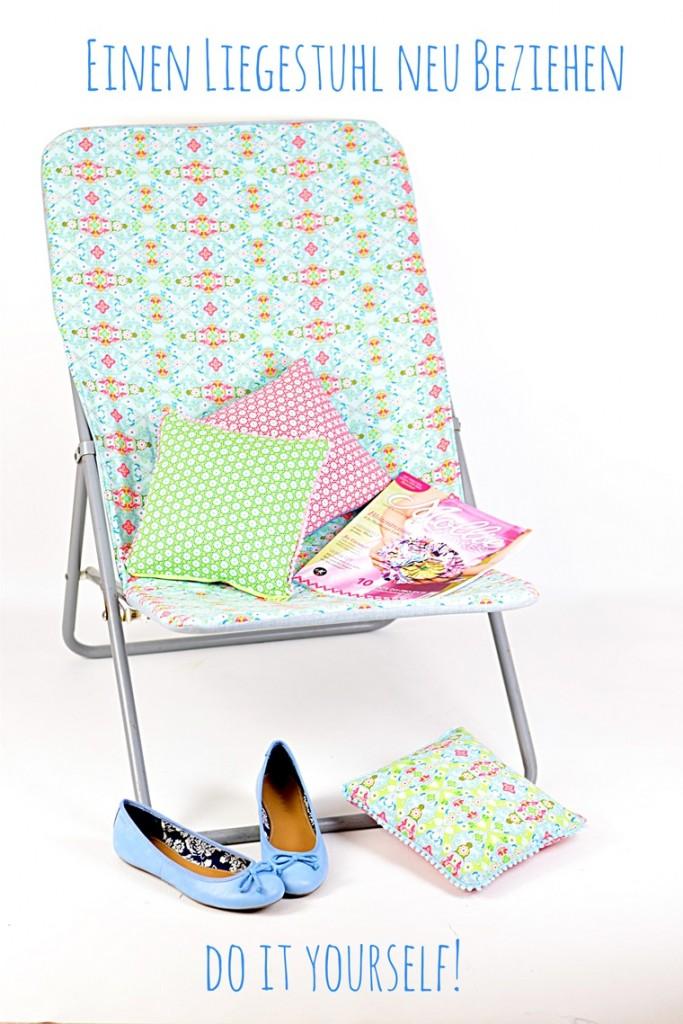 anleitung: einen liegestuhl neu beziehen | lillesol & pelle, Moderne