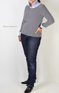 Ebook Schnittmuster lillesol women Longsleeve Shirt mit langen Ärmeln und V-Ausschnitt oder rundem Ausschnitt nähen