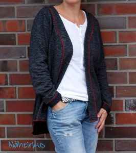 Ebook Schnittmuster lillesol women No11 Cardigan Strickjacke Jacke nähen