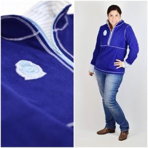 Schnittmuster Ebook lillesol und pelle women Fleece Pulli Sweat Pullover mit Reißverschluss und Stehkragen