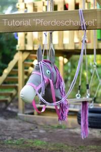 Tutorial Pferdeschaukel selber bauen nähen Pferd Schaukel DIY Anleitung