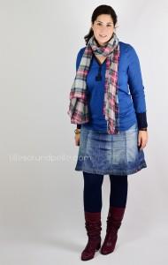 Ebook Schnittmuster Knopfshirt lillesol pelle women Shirt mit Knopfleiste nähen