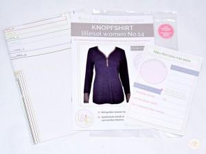lw14 Knopfshirt Set