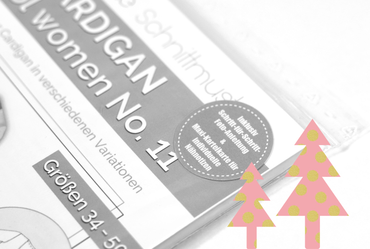 Geschenkidee für Nähfreunde Nähbegeisterte Näherinnen Schnittmuster Papierschnittmuster