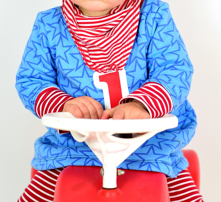 Ebook Schnittmuster nähen lillesol und pelle basics Tunika Tunika-Kleid Sweatkleid Geburtstagsshirt