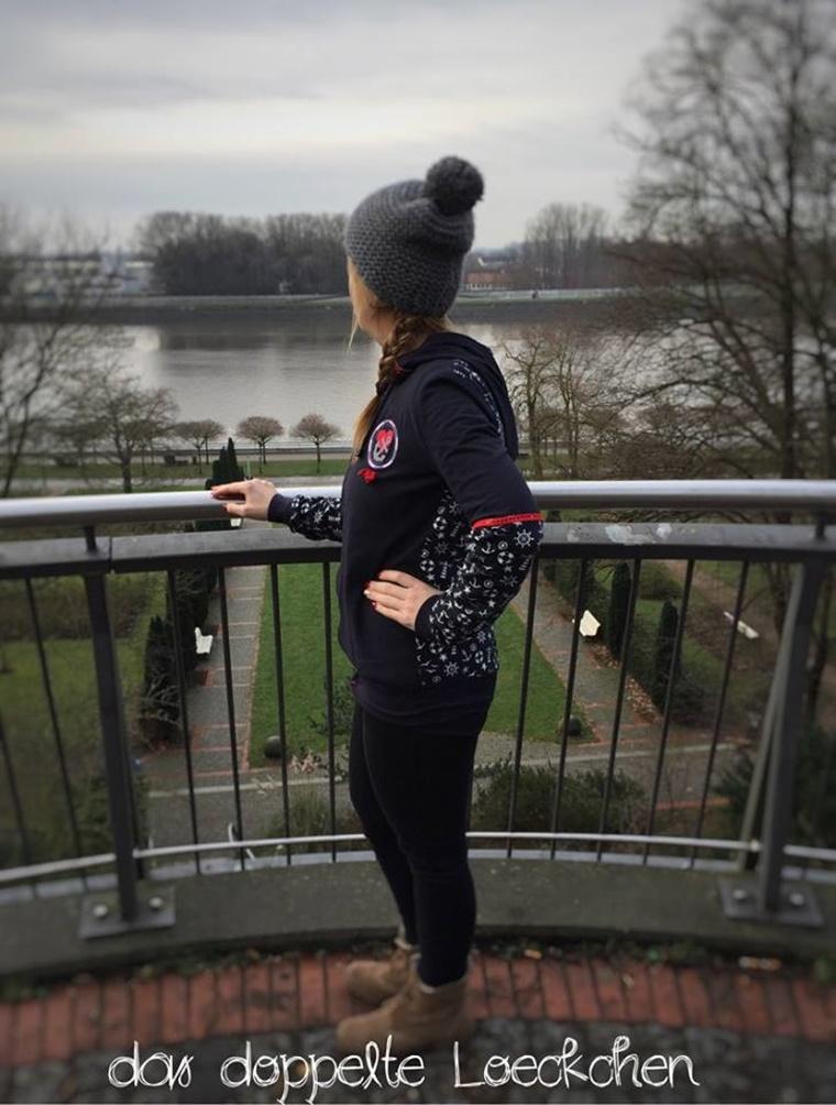Schnittmuster Ebook Nähen Kapuzenjacke Jacke mit Kapuze lillesol pelle Damen women