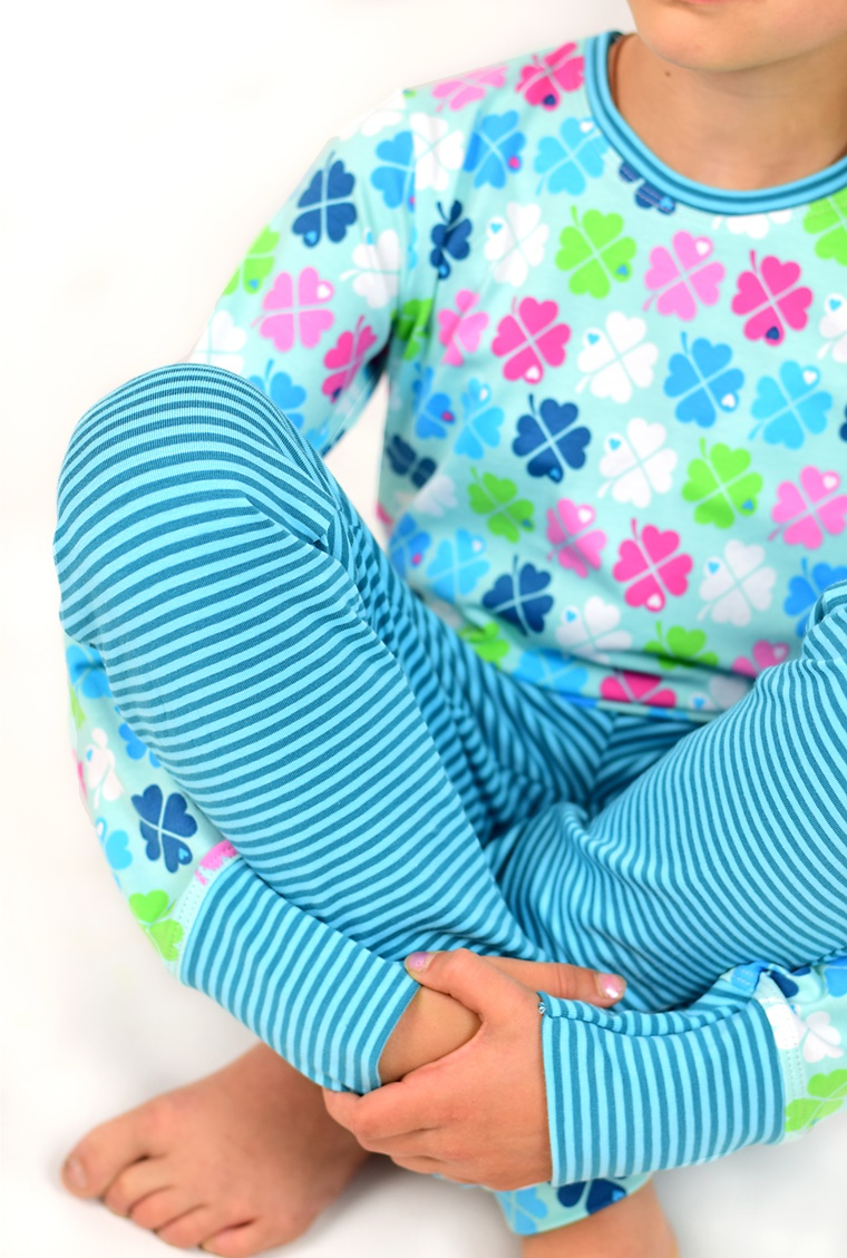 Schnittmuster Ebook Schlafanzug Joggingshose Longsleeve by graziela klee lillesol und pelle