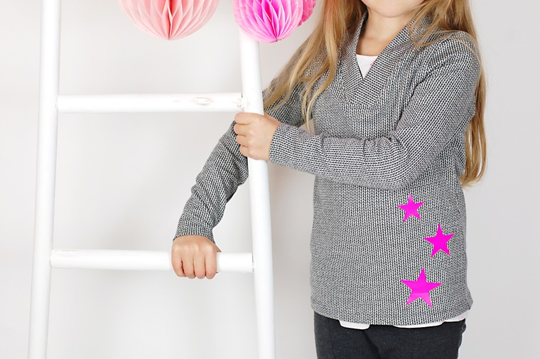 Schnittmuster nähen V-Ausschnitt Pulli Shirt Ebook lillesol pelle