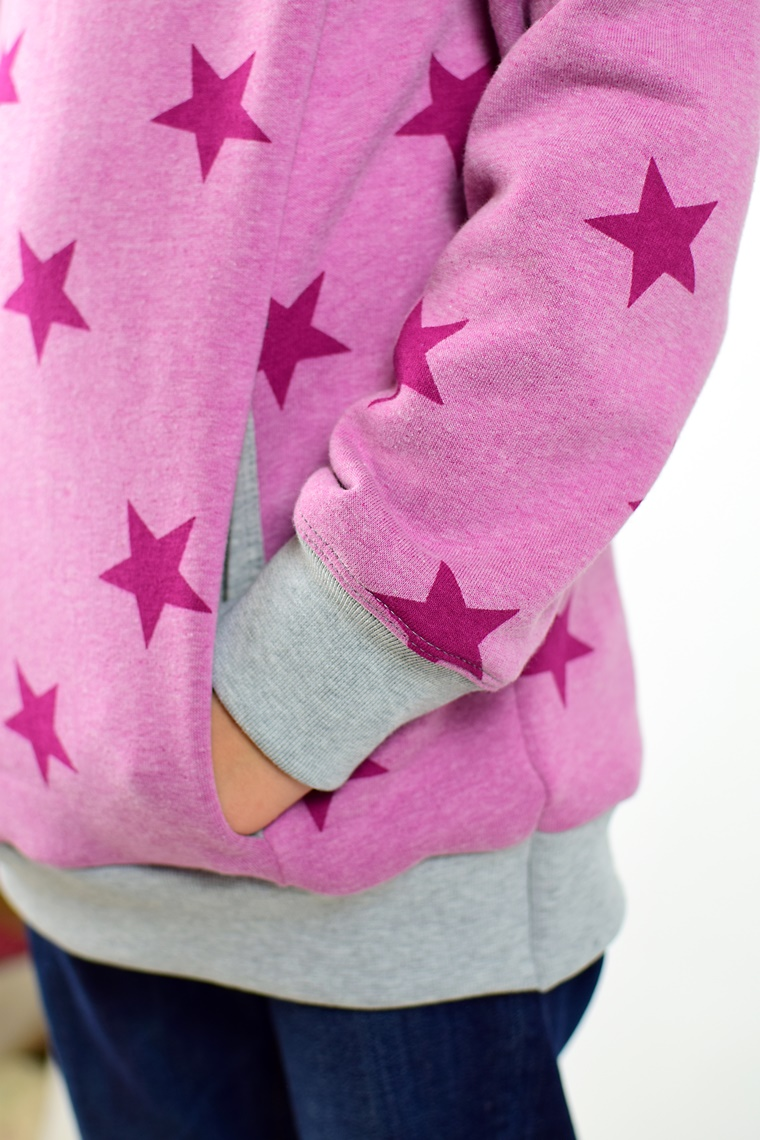 Schnittmuster Ebook nähen Hoodie Kapuzenpulli Kaupze Kuschelkragen Damen Kinder Jungs Mädchen