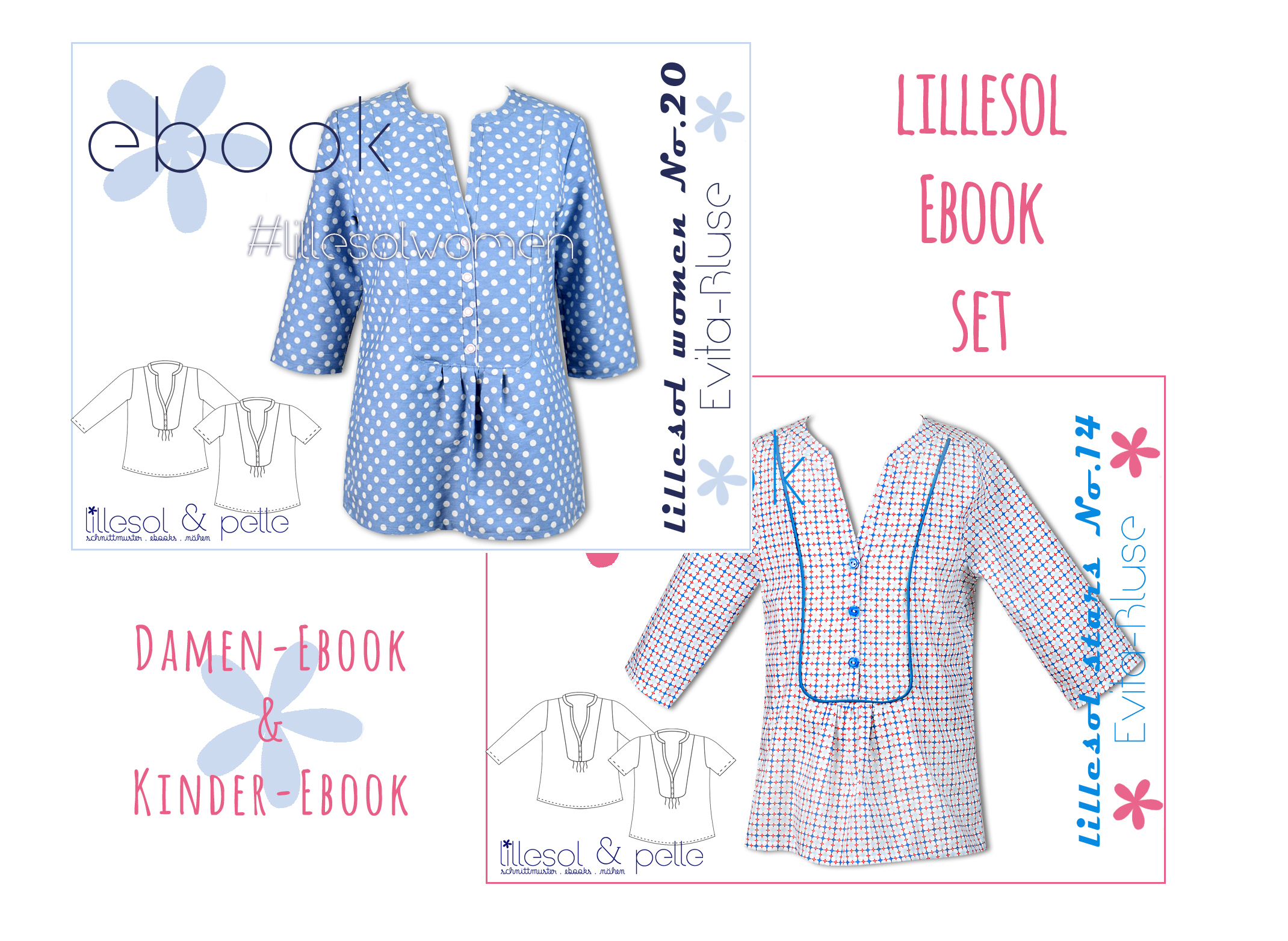lillesol ebook set evita bluse Kopie