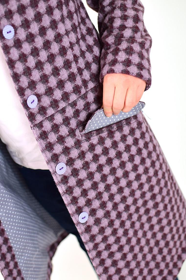 Schnittmuster Ebook nähen Mantel mit Wiener Nähten Pattentasche Kinder Damen