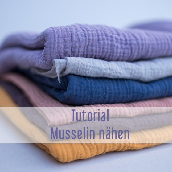 Different colors of Fabric for Sewing, Musselin
