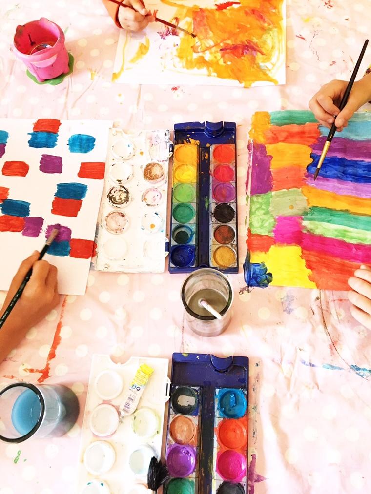 Kreative Bücher für Kinder Ferienbeschäftigung, Kindergeburtstag, Malideen, Basteltipps
