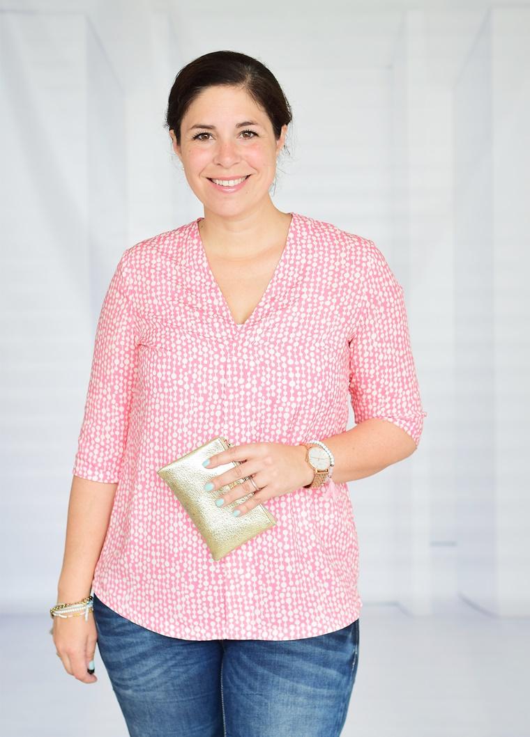 Schnittmuster Ebook nähen Bluse mit Falte Marisol Hamburger Liebe Ladylike Grace Hilco