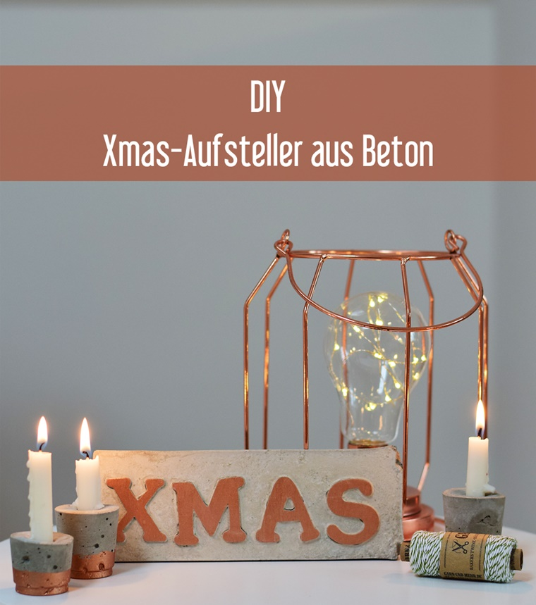 diy weihnachtsdeko aus beton und kupfer lillesol pelle schnittmuster ebooks n hen. Black Bedroom Furniture Sets. Home Design Ideas